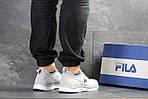 Чоловічі кросівки Fila (світло-сірі), фото 2