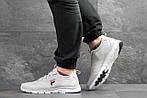 Чоловічі кросівки Fila (світло-сірі), фото 6