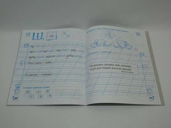 001 кл НУШ Уч ПіП РЗ Прописи 001 кл Ч2 (до Вашуленко) Сапун для письма і розвитку мовлення, фото 2