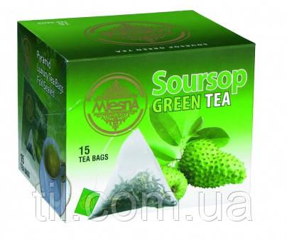 Зеленый чай Саусеп 30г (15*2г)