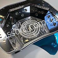 УФ LED+CCFL лампа для гель-лаков и геля 48 Вт, серебро, фото 4