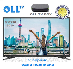 "OLL TV BOX   подписка OLL TV   Strong SRT 40FA3303U (40"",101см)"
