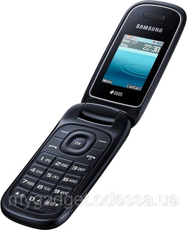 """Мобильный телефон Samsung GT-E1272 Черный 2 SIM/800mAh/1.77 """""""