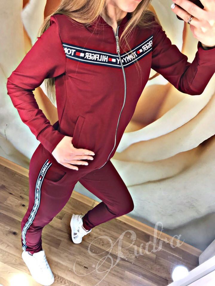 Женский спортивный костюм осень 2019