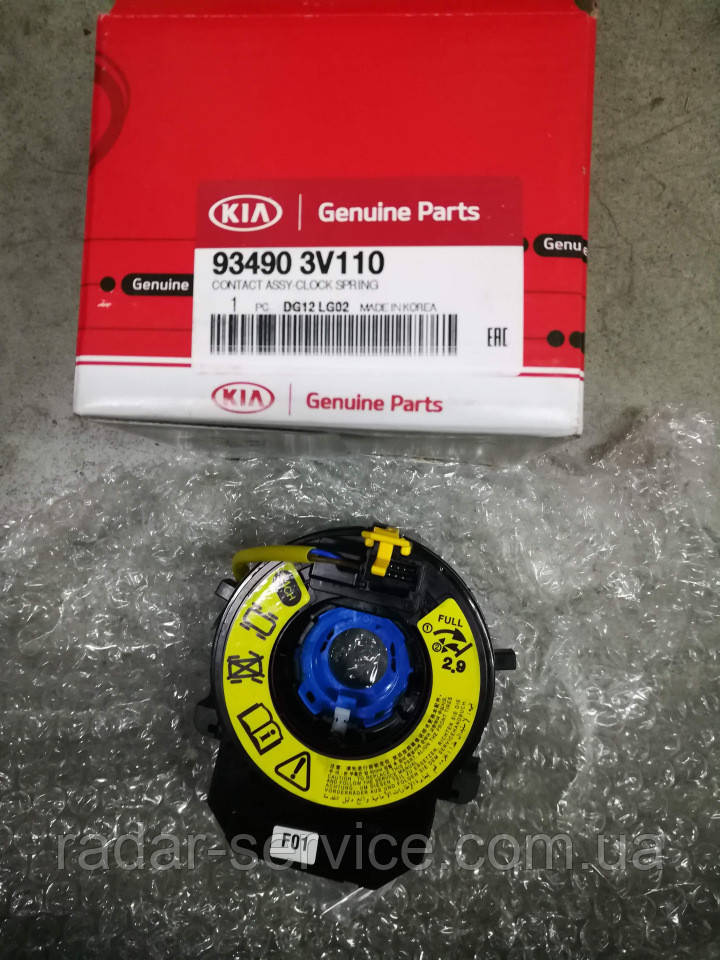 Шлейф рулевой колонки, KIA Cerato 2013-18 TD FL, 934903v110