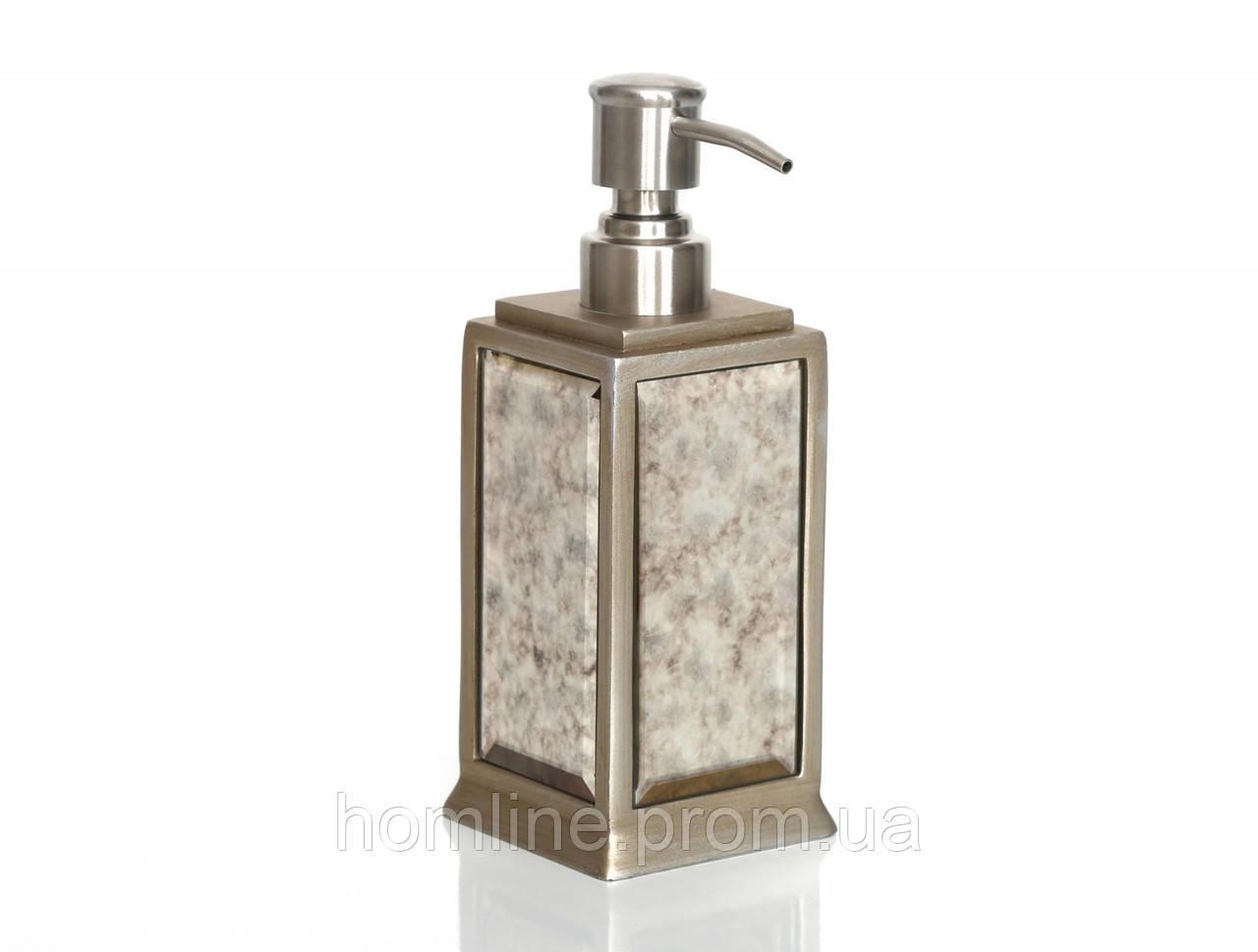 Дозатор для мыла Irya Mirror bronz бронзовый