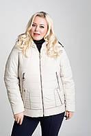 """Весенняя женская куртка """"Влада"""" большого размера"""