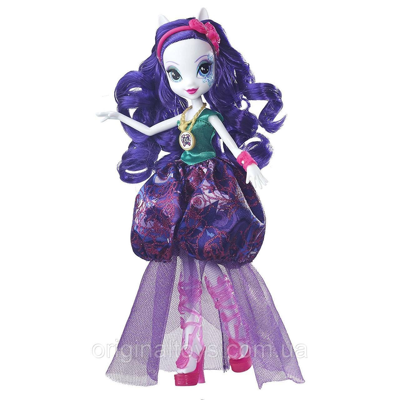 Кукла My Little Pony Рарити Легенды вечнозеленого леса Crystal Gala Equestria Girls Hasbro B7531