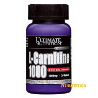 L-Carnitine 1000 mg Ultimate 30 капс (30 порций)