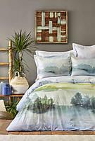 Постельное белье Karaca Home ранфорс Lindara евро, фото 1