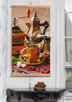Электрический настенный обогреватель-картина Trio Кофе 400 Вт, фото 2