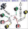 Сайлентблок Dodge Avenger 08- (к-кт 12шт) CHRISLER SEBRING 2 06-; JOURNEY 09-