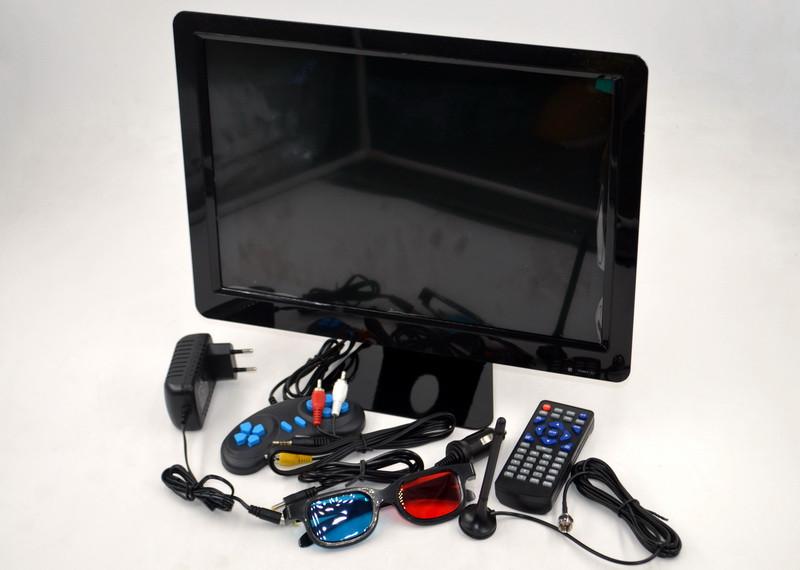 """Телевизор портативный видеодвойка DVD-LS150T 16"""" в машину портативный на кухню 16 дюйм"""