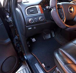 Автоковрики для Chevrolet Tahoe III GMT900 (2006-2014) eva коврики от ТМ EvaKovrik