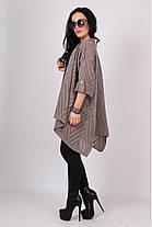 Жіночий легкий кардиган в'язаний ажурний 44-52 багато кольорів, фото 3