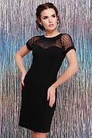 Красивое черное платье
