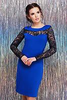 Красивое женское вечернее платье