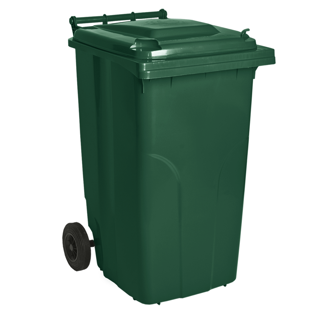 Мусорный бак пластиковый. Бак для мусора. Мусорный контейнер. 240 л.  Качество!!!