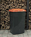 Мусорный бак пластиковый. Бак для мусора. Мусорный контейнер. 240 л. Качество!!!, фото 6