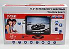 """Телевизор с тюнером T2 и DVD плеером LS912T (10,2"""") в машину портативный телевизор на кухню, фото 4"""