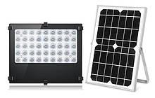 Світильник на сонячній батареї 30W 45LED з датчиком освітленості BT-F500 10400mAh