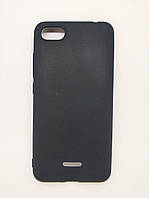 Силиконовый чехол бампер для Xiaomi Redmi 6a Candy case Черный