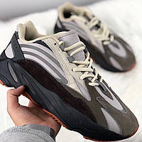 b34d095e Мужские кроссовки в стиле Adidas x Kanye West Yeezy 700 v2 Grey