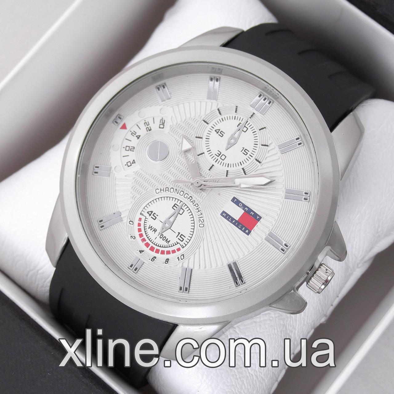 Мужские наручные часы Tommy Hilfiger M231 на каучуковом ремешке