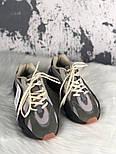 Женские кроссовки Adidas X Kanye West yeezy 700 v2 grey.  Живое фото. (Реплика ААА+), фото 4
