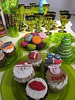 Набор посуды стекловидной CFP 84шт/6 пер для фуршета и праздничного стола Пасха Красная горка «Классико»
