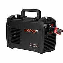 Сварочный аппарат инвертор IGBT Dnipro-M SAB-258DPB + Хамелеон (250 260 N D DP 260), фото 3