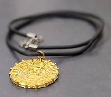 Кулон монета Ацтеков