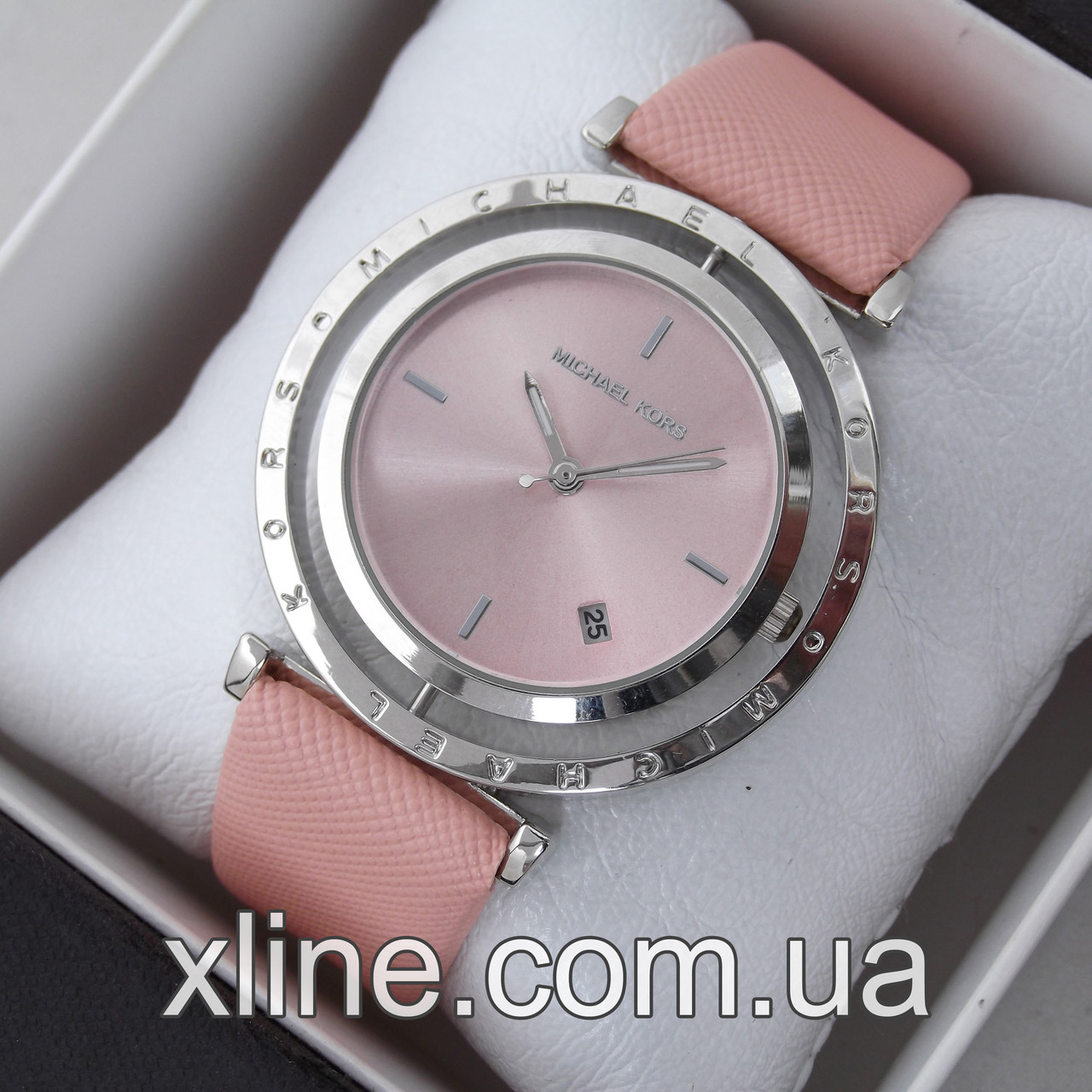 Жіночі наручні годинники Michael Kors MK-A118 на шкіряному ремінці