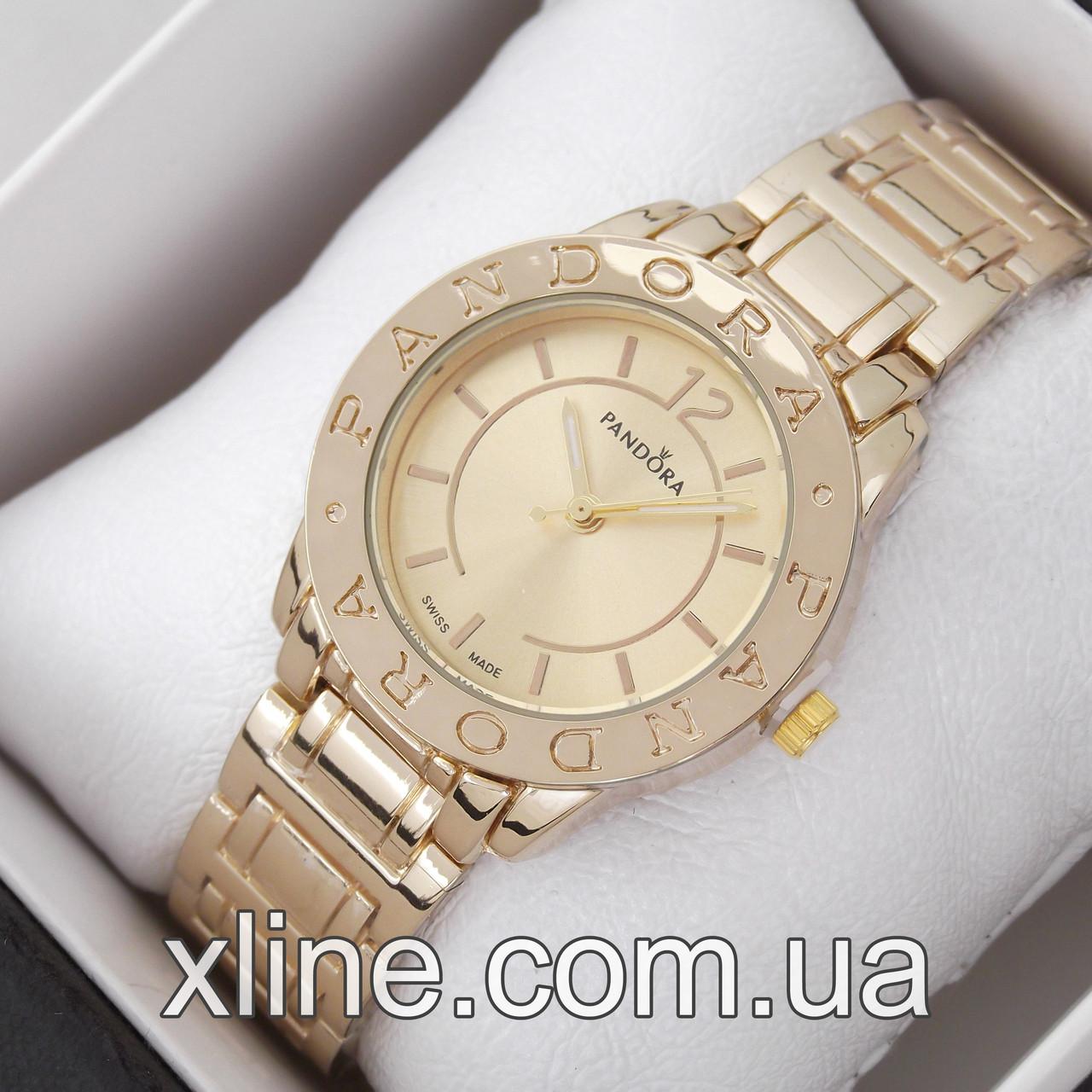 Жіночі наручні годинники Pandora M214 на металевому браслеті