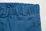 Шорты для мальчика детские 92 SmileTime для мальчика Classic Cotton, голубые, фото 3