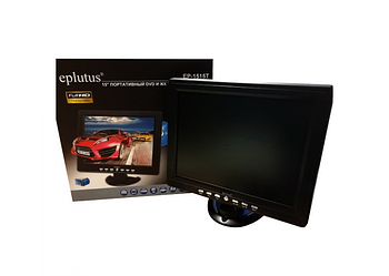Автомобільний телевізор Eplutus EP-1515T Цифровий телевізор+T2 (15 дюймів) телевізор для кухні гаража машини