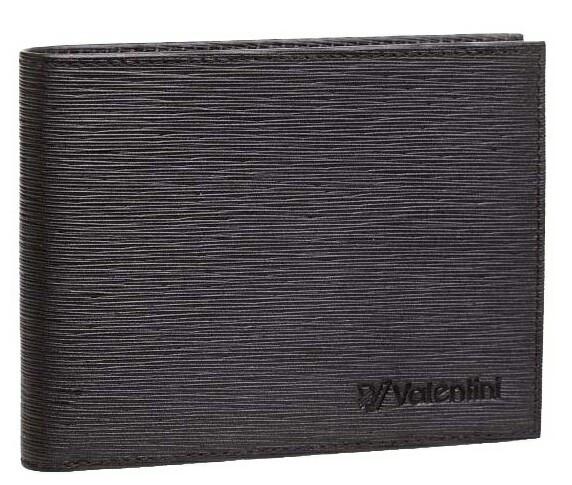 Кошелек мужской Valentini 31V-290-1, черный, кожаный
