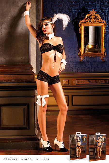 a08a6c1eeadbd Baci Комплект женского нижнего белья Black Lace Boyshort Set - Гипермаркет  Бамбук. Отправка товаров в