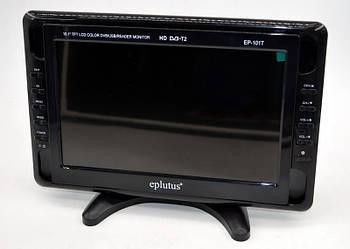 """Автомобільний телевізор з тюнером Т2 Eplutus EP-101T (10,1"""") відеодвійка телевізор для кухні гаража машини"""