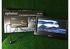 """Автомобильный портативный телевизор с DVB-T2 12"""" Eplutus EP-120T переносной в машину телевизор с тюнером, фото 2"""