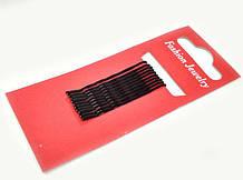 Заколки-невидимки черные для волос 720 шт