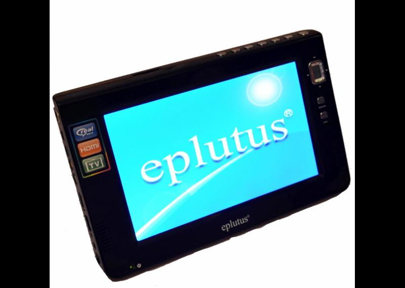 """Мультимедийный автомобильный телевизор 9"""" Eplutus EP-9511T DVB-T2 (TV / USB / SD) в машину портативный"""