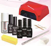 Стартовый набор для маникюра Kodi Professional + LED+CCFL лампа Diamond 36 Вт