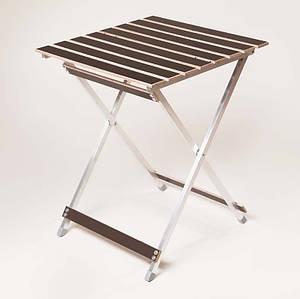 Туристический столик Aluwood-малый 655х500х530 мм раскладной