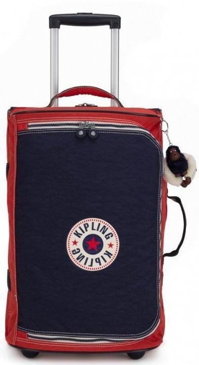 Тканевый чемодан малый Kipling TEAGAN S K13094_17M, 39л, красный