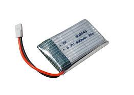 Литий-полимерный аккумулятор для квадрокоптера 3,7V 650mAh