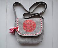 Женская сумка из ткани Деликатная