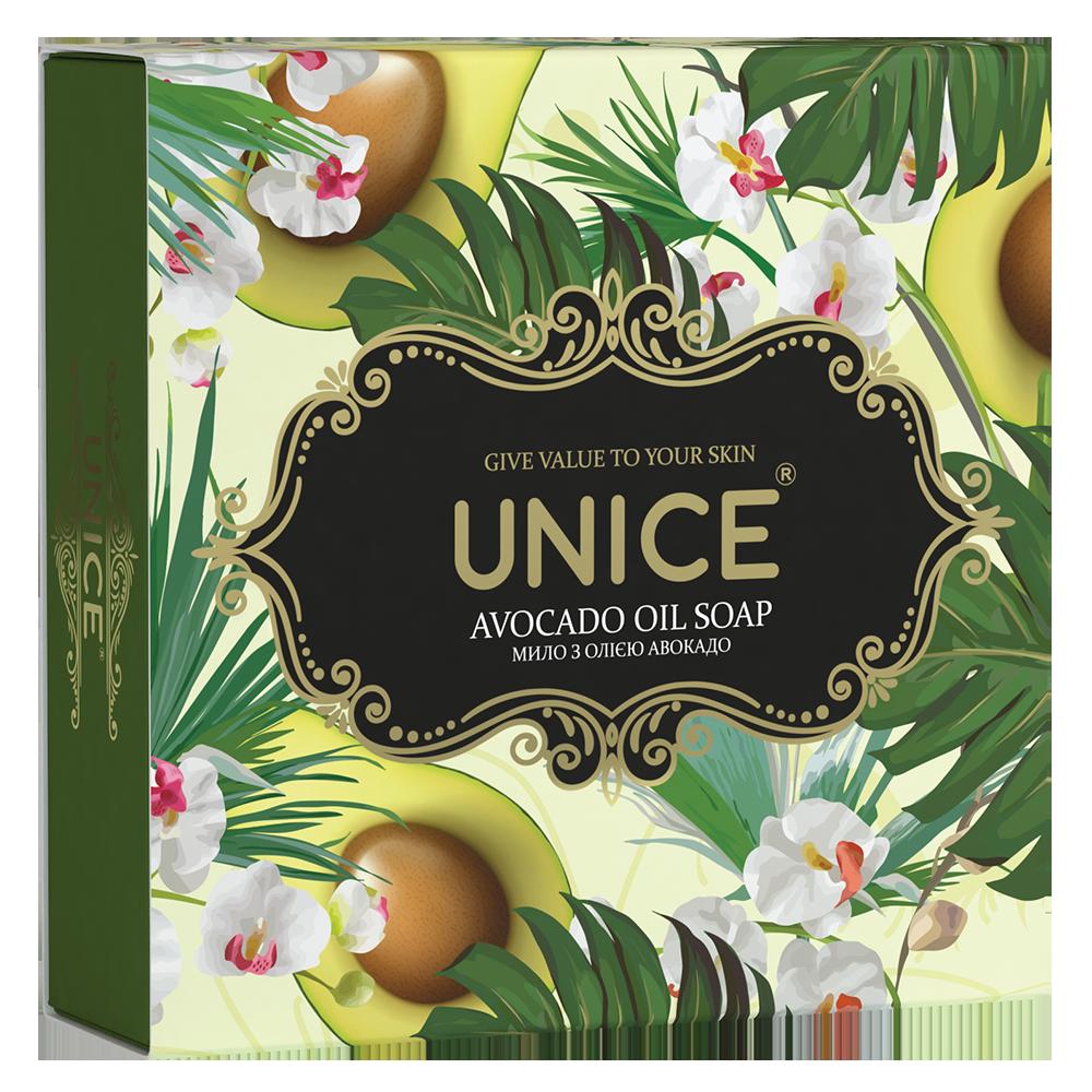 Натуральне мило Akten cosmetics Unice із олією авокадо 100 г (3605035)