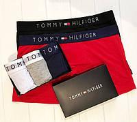 Комплект 3 шт  мужского нижнего белья Tommy Hilfiger  боксеры  - реплика , фото 2