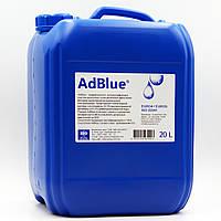 Жидкость AdBlue ® для снижения выбросов систем SCR (мочевина) 20 л